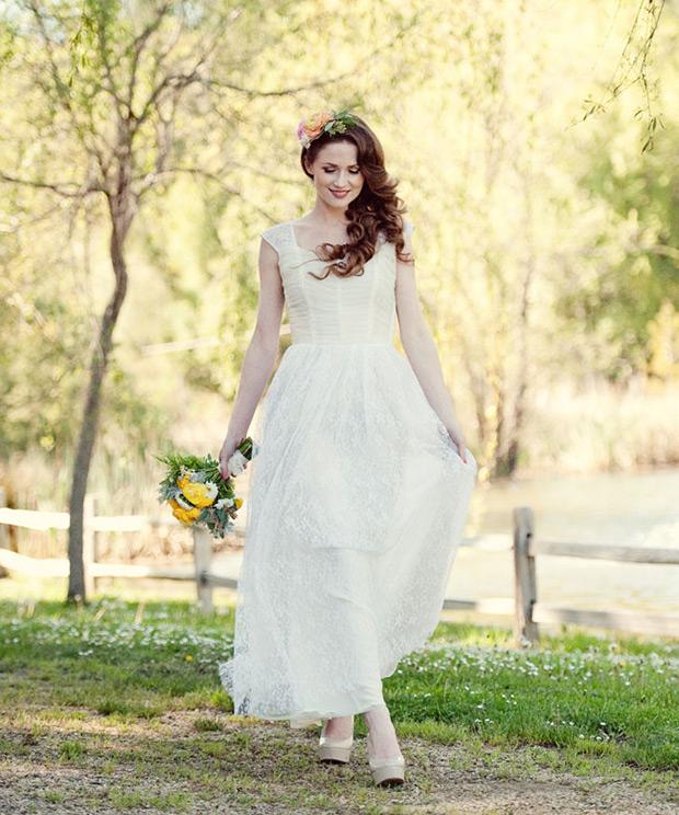 where to buy vintage wedding dresses photo - 1