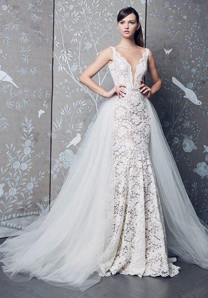white dresses for wedding photo - 1