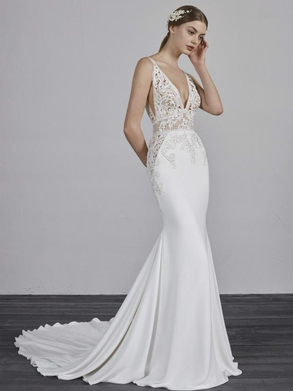 white wedding dresses short photo - 1