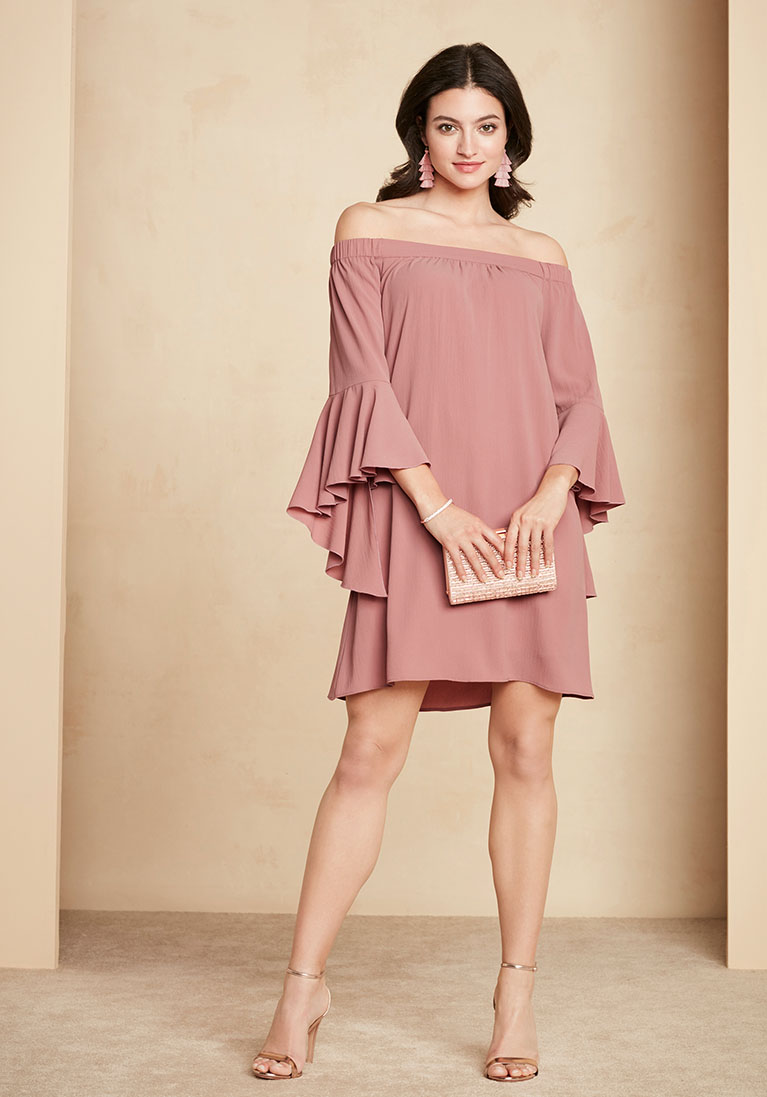 winter dresses for wedding guests photo - 1