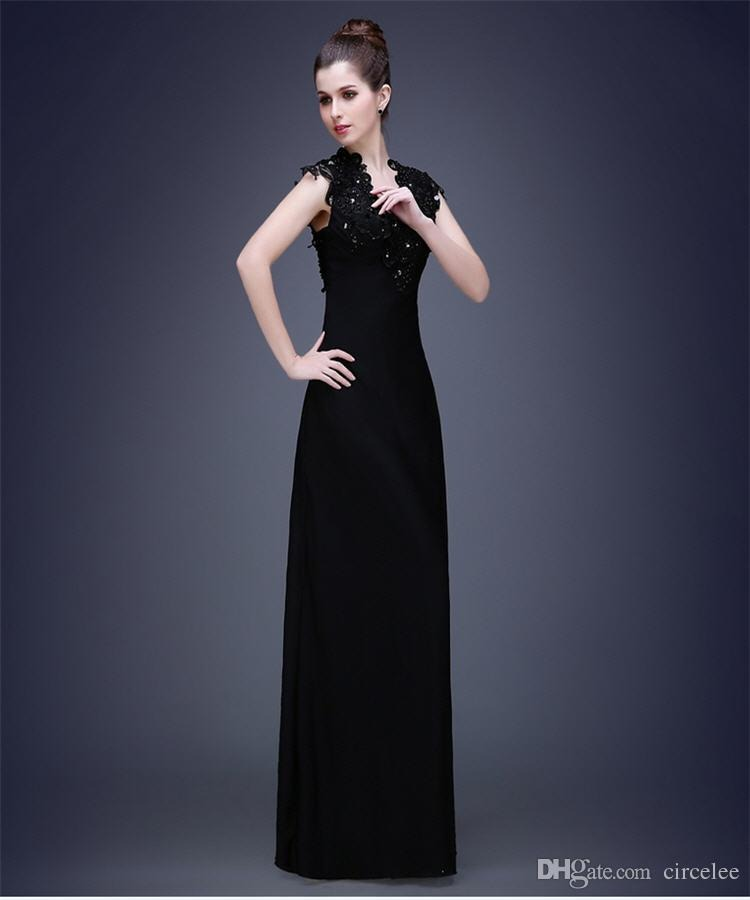 woman within formal evening dresses photo - 1