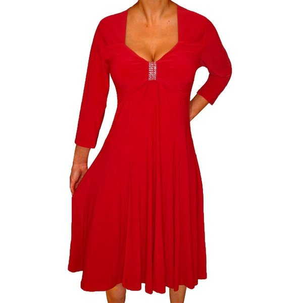 womens plus size dresses for wedding guest photo - 1
