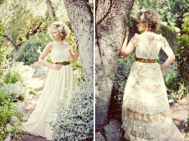 woodsy wedding dresses photo - 1