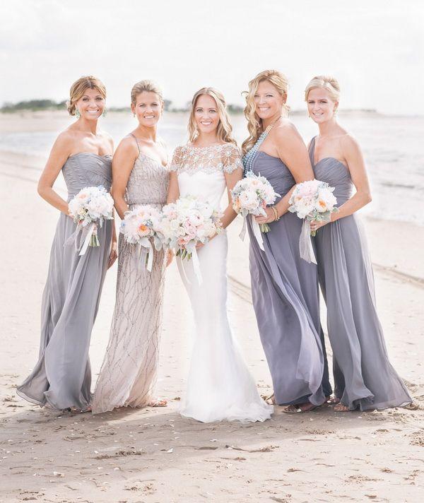 yellow wedding dresses bridesmaids photo - 1