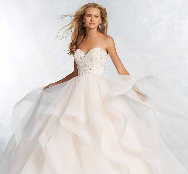 Wedding Gown Cleaning: Pick Up Skirt Wedding Dresses