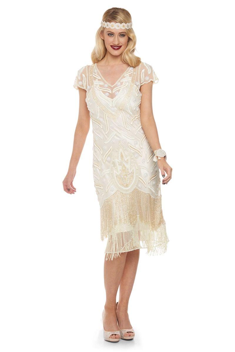 1920s wedding dresses for sale photo - 1