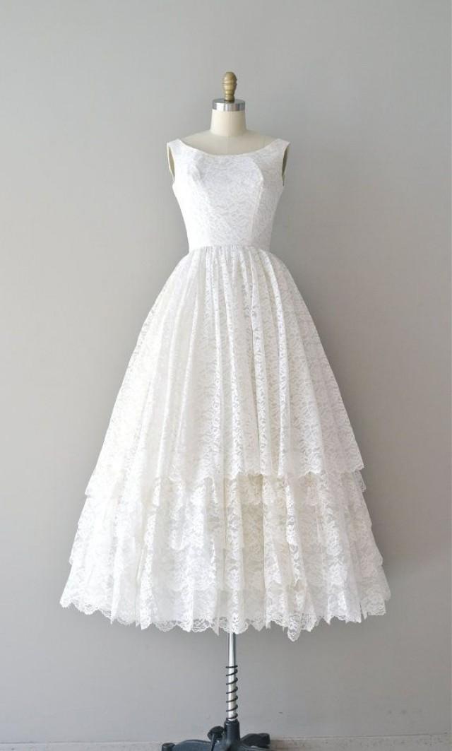 1950s vintage wedding dresses photo - 1