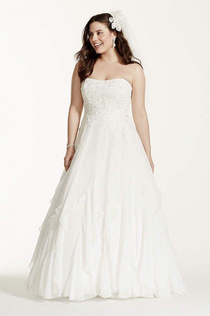 2 in 1 wedding dresses davids bridal photo - 1