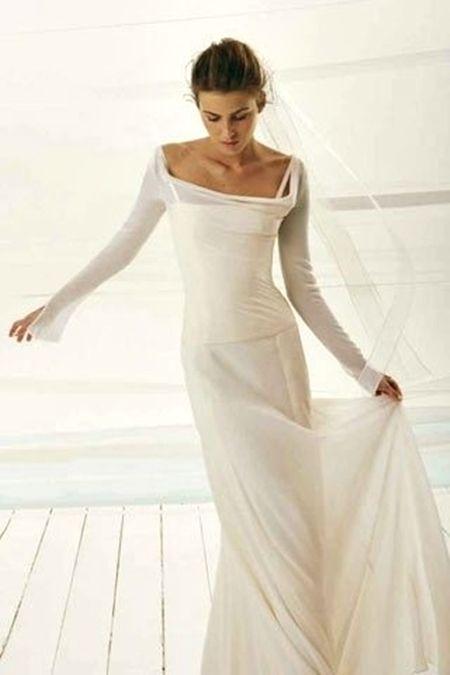 2nd wedding dresses informal photo - 1