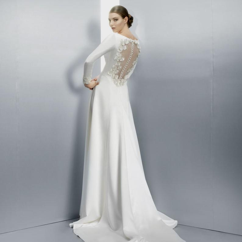 40s inspired wedding dresses photo - 1