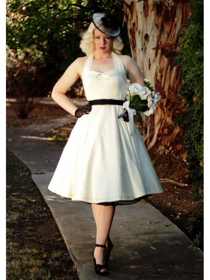 50s themed wedding dresses photo - 1