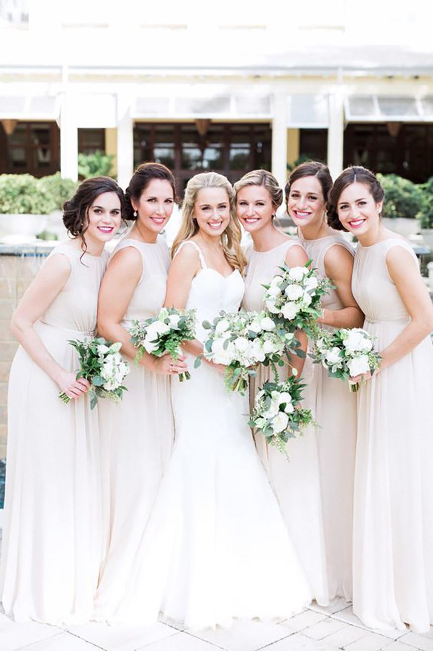 all white wedding dresses photo - 1
