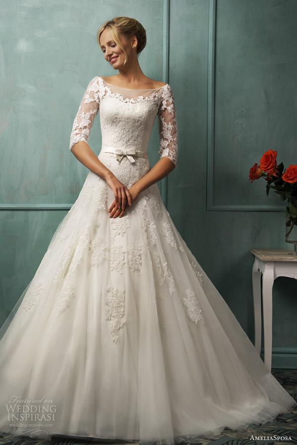 amelia sposa 2014 wedding dresses photo - 1