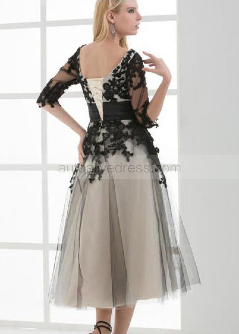 ankle length evening dresses photo - 1