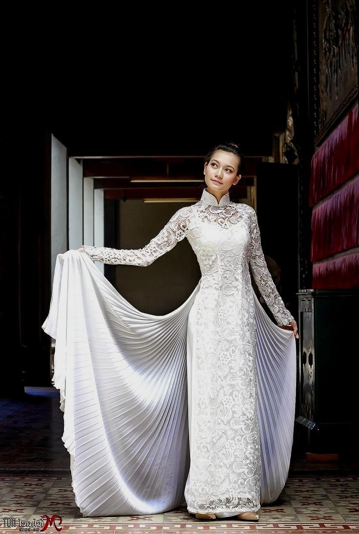 ao dai wedding dresses photo - 1