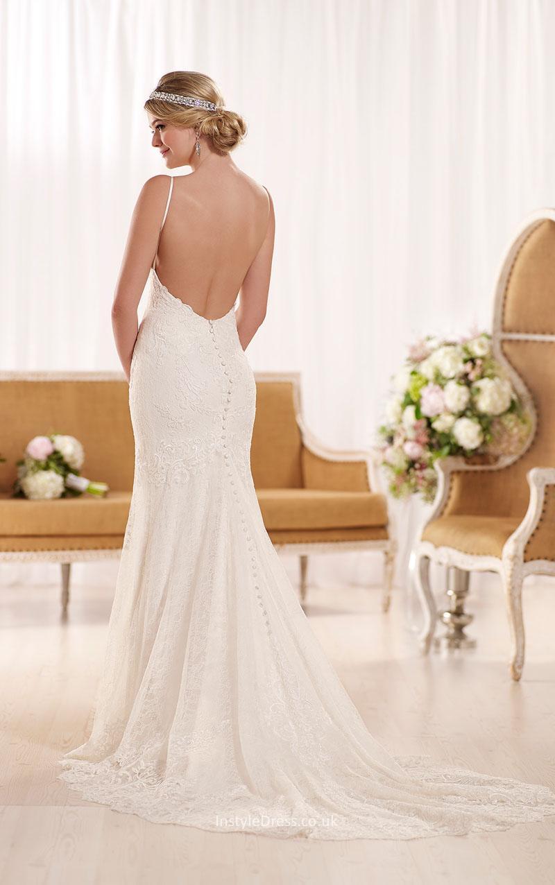 backless beach wedding dresses photo - 1