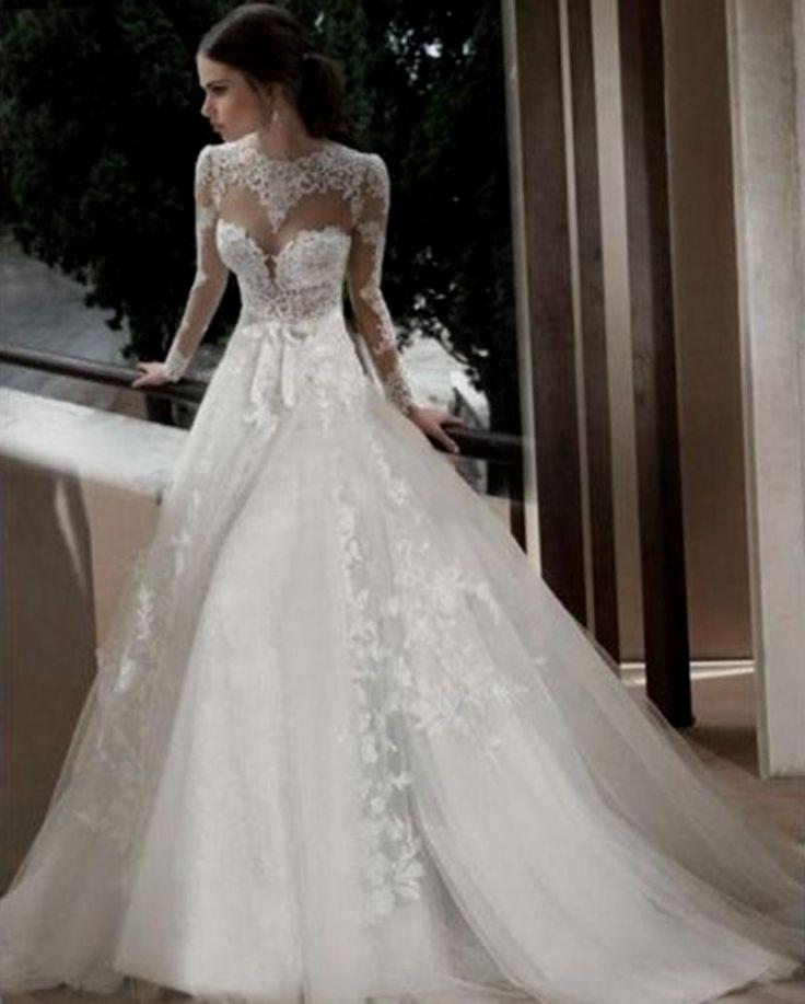 backless wedding dresses with sleeves photo - 1