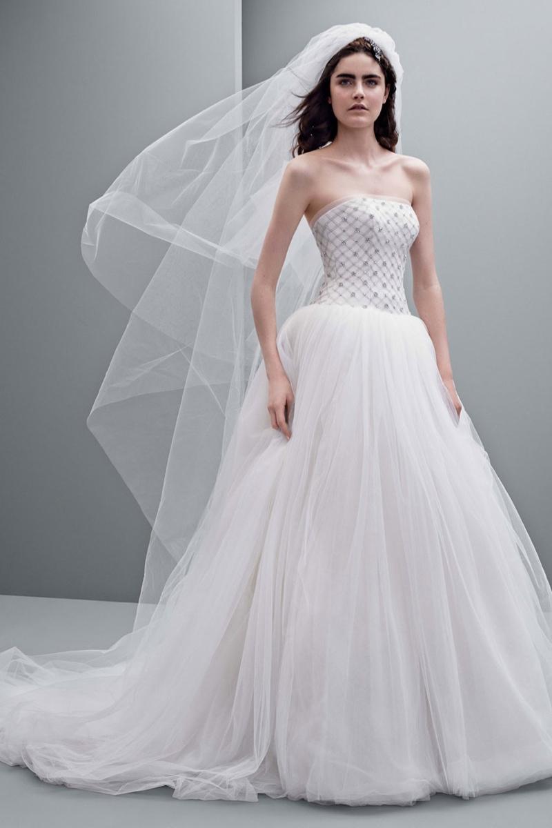 beach wedding dresses davids bridal photo - 1