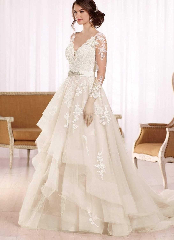 best inexpensive wedding dresses photo - 1