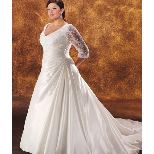 big womens wedding dresses photo - 1