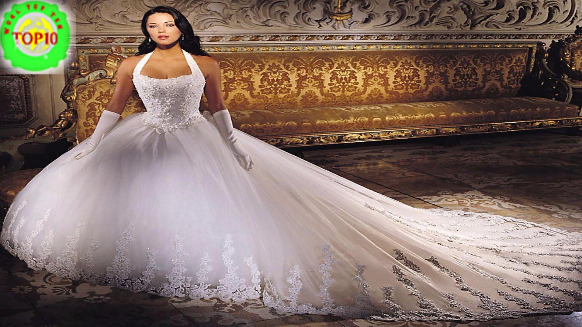 biggest wedding dresses ever photo - 1