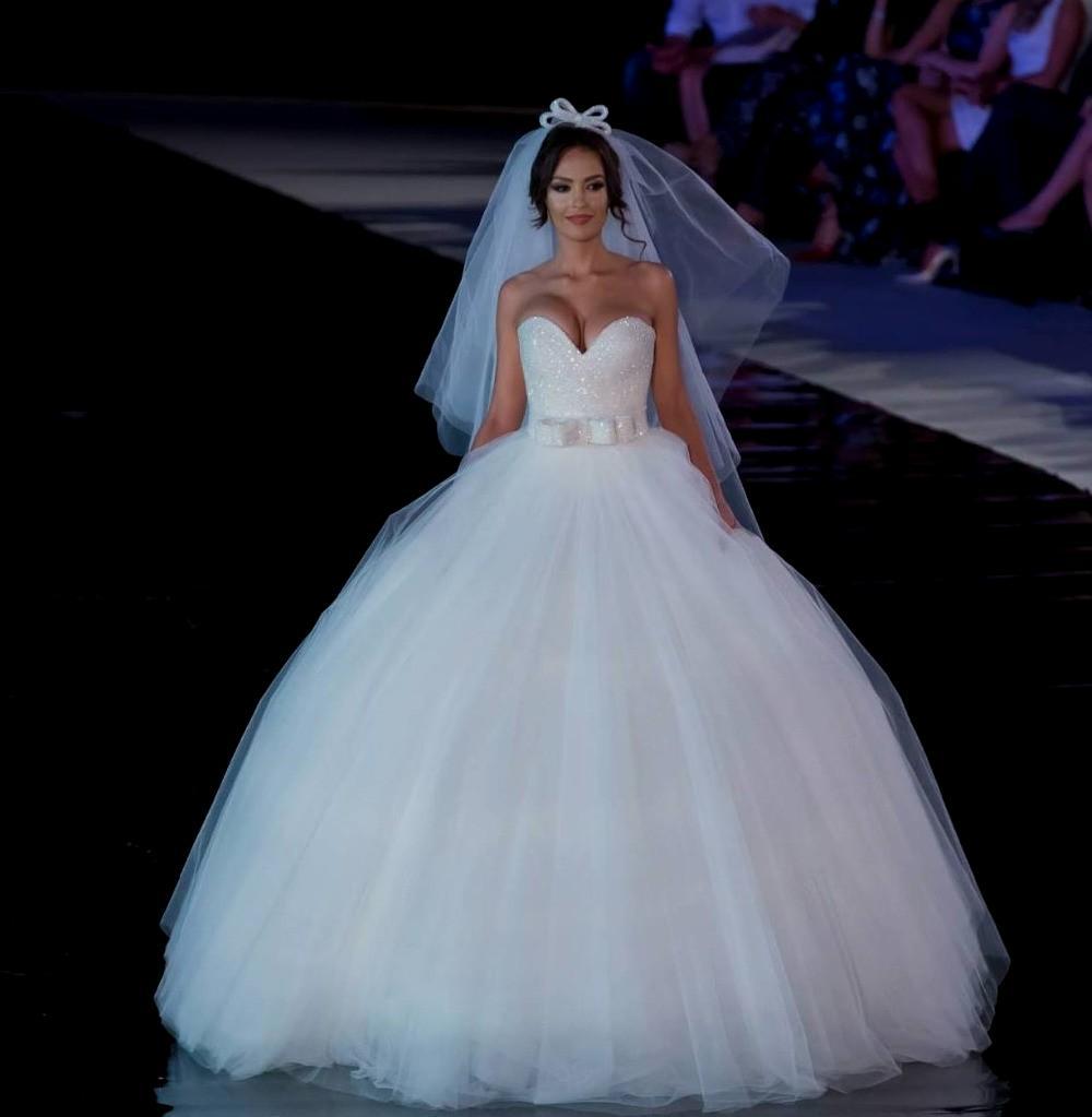 bling wedding dresses 2015 photo - 1