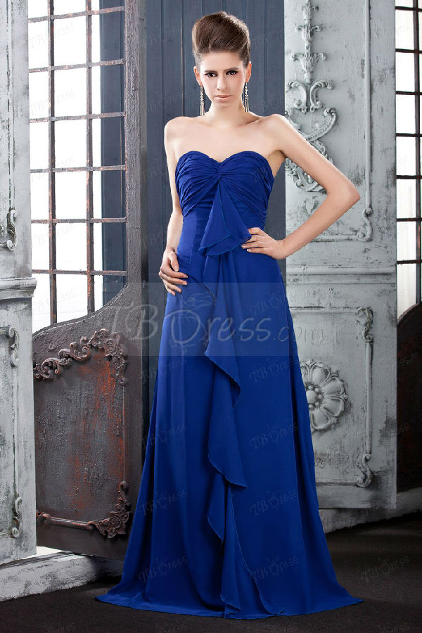 blue and silver wedding dresses photo - 1