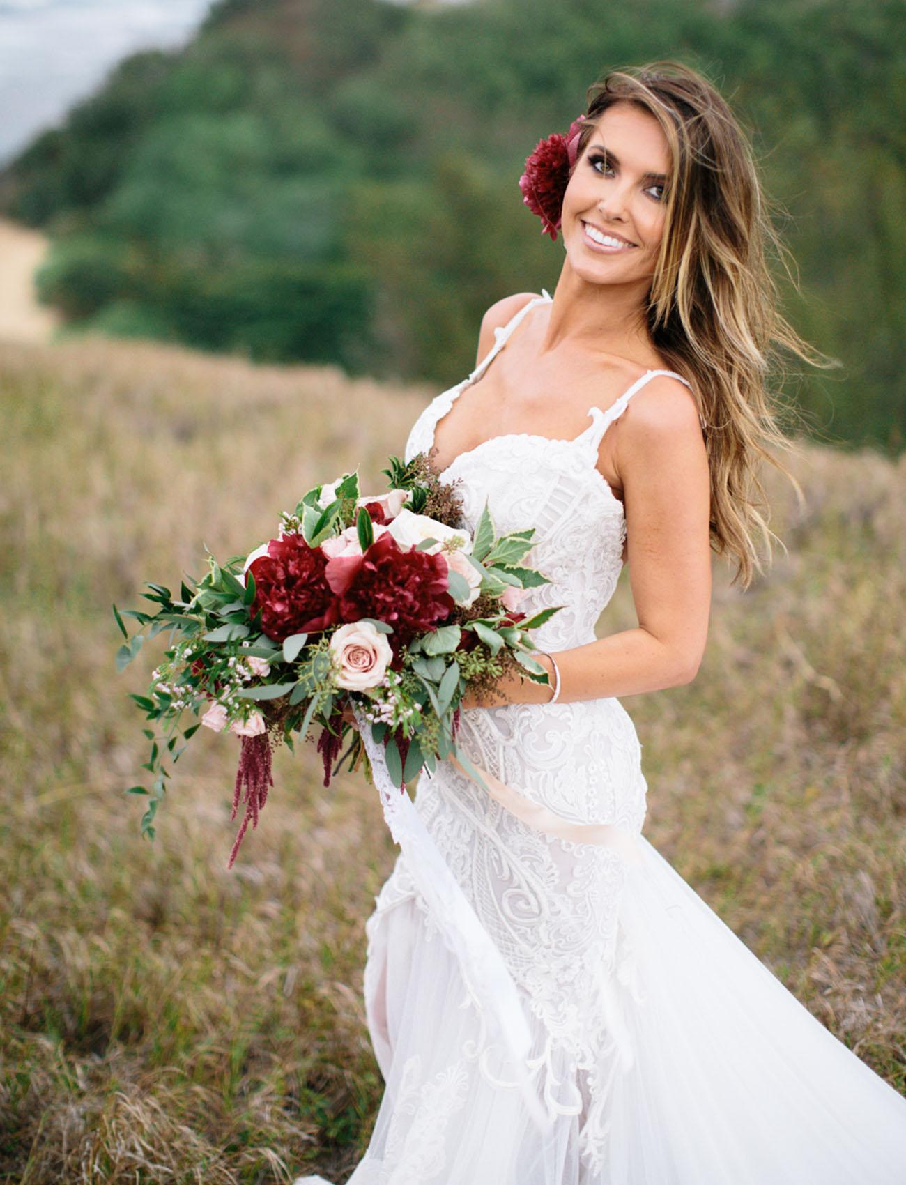 bohemian dresses for wedding photo - 1