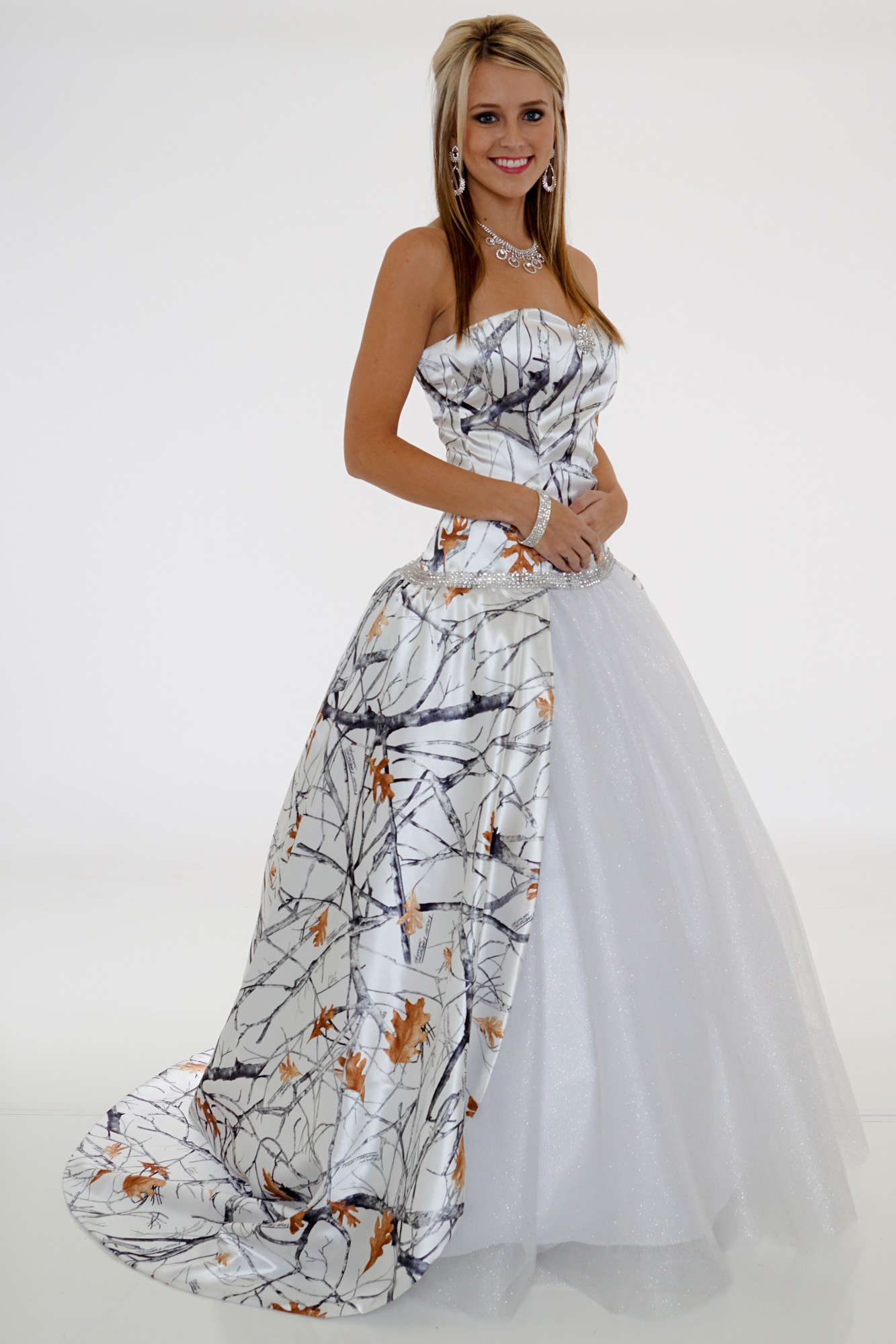 camouflage wedding dresses pictures photo - 1
