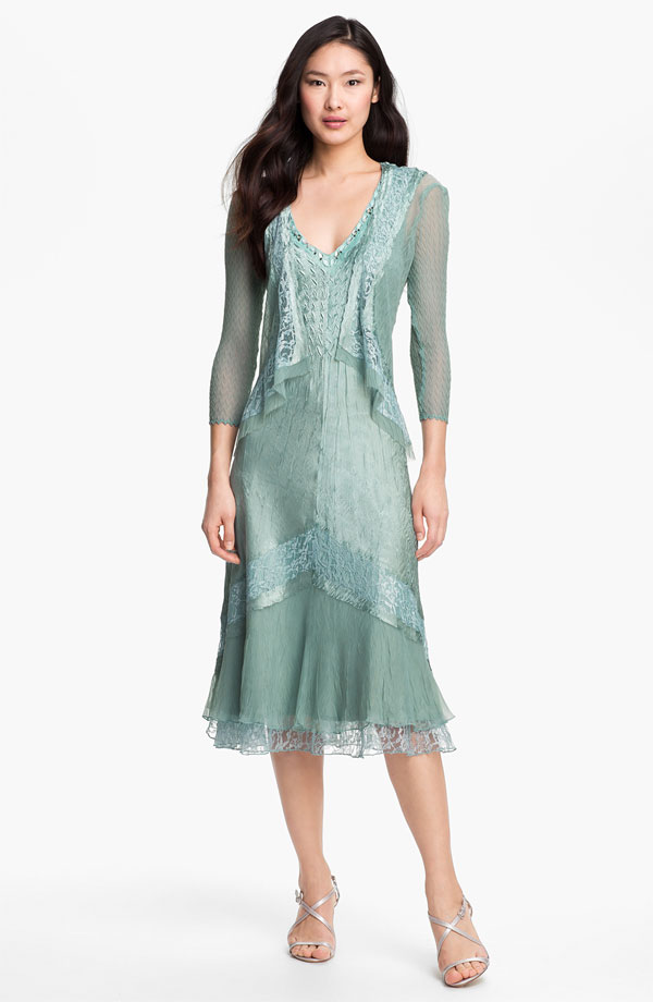 Casual Mother Of The Bride Dresses For Outdoor Wedding Photo 1
