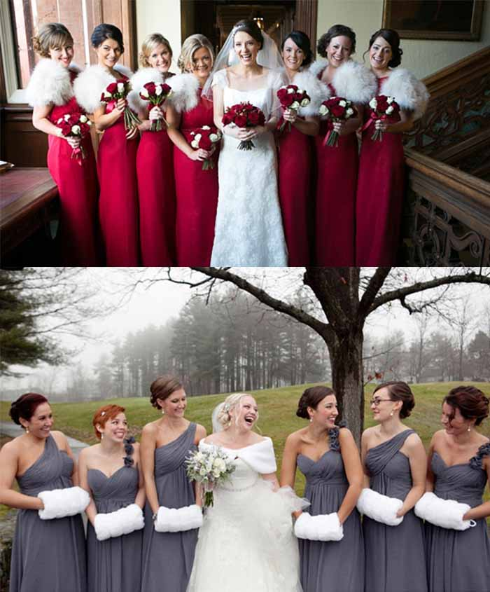 casual wedding dresses for winter photo - 1