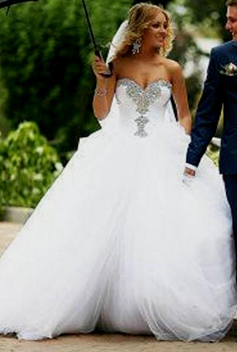 cheap ball gown wedding dresses photo - 1