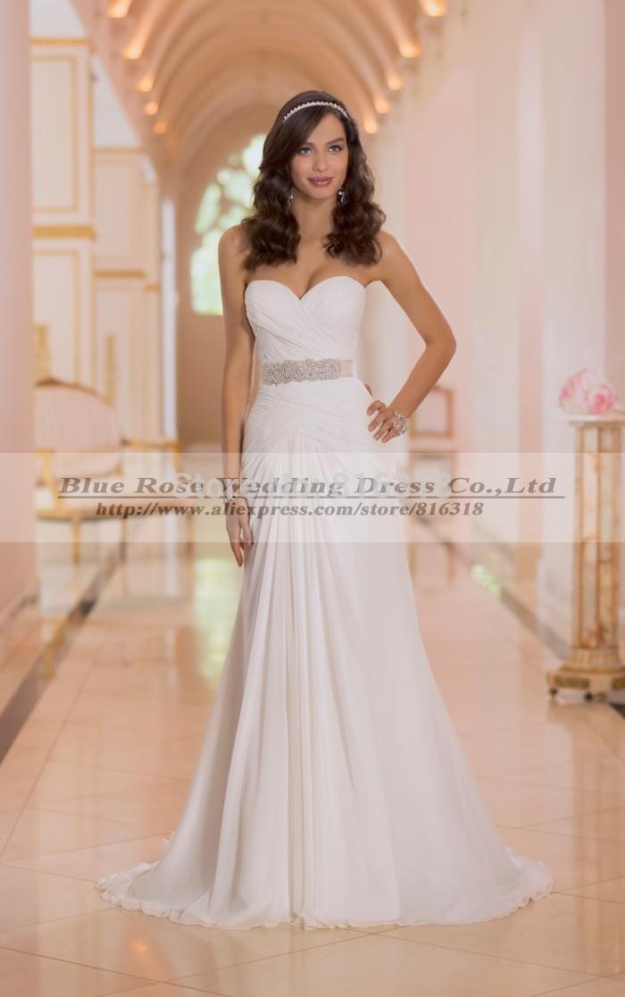 cheap beach wedding dresses under 100 photo - 1