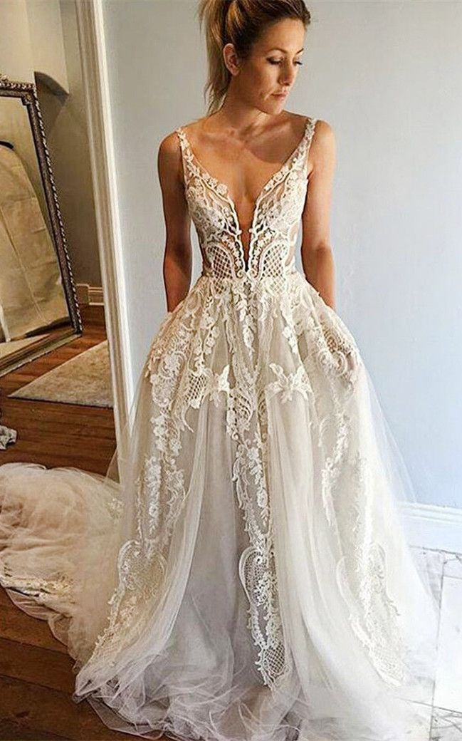 cheap colored wedding dresses photo - 1