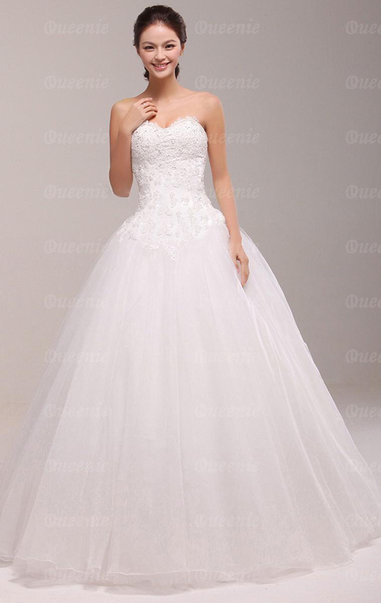 cheap princess wedding dresses photo - 1