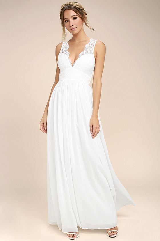 cheap summer wedding dresses photo - 1