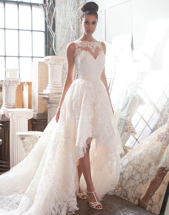 cheap wedding dresses mermaid style photo - 1