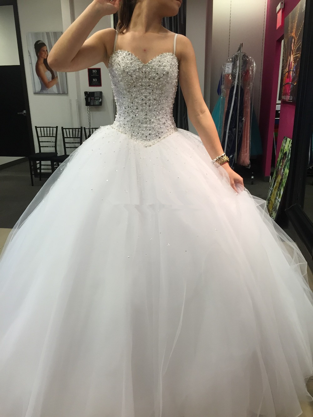 cinderella style wedding dresses photo - 1