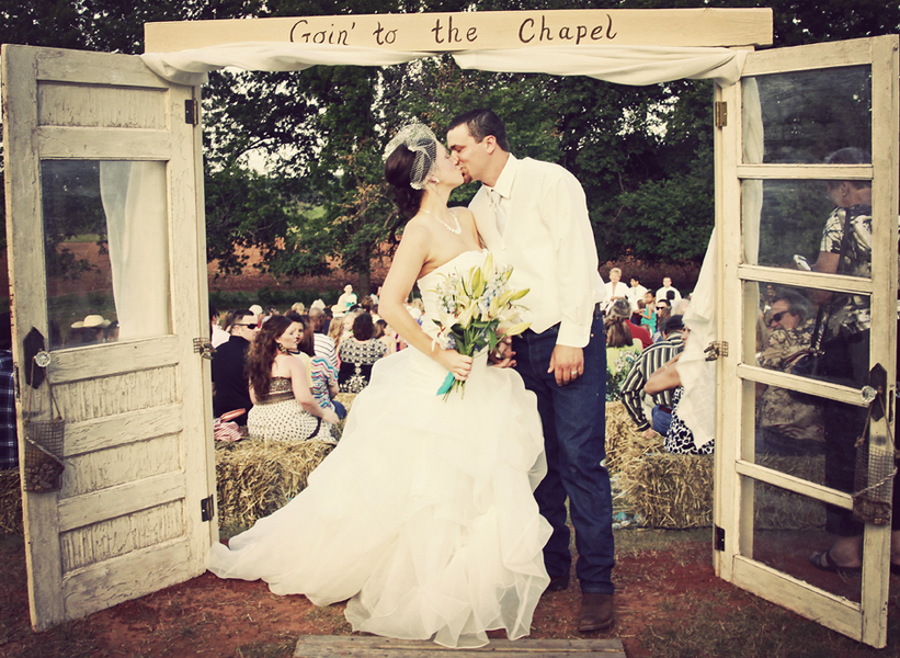 country themed wedding dresses photo - 1