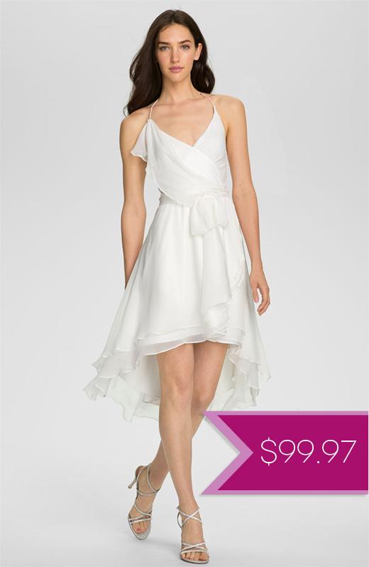 courthouse wedding dresses under $100 photo - 1