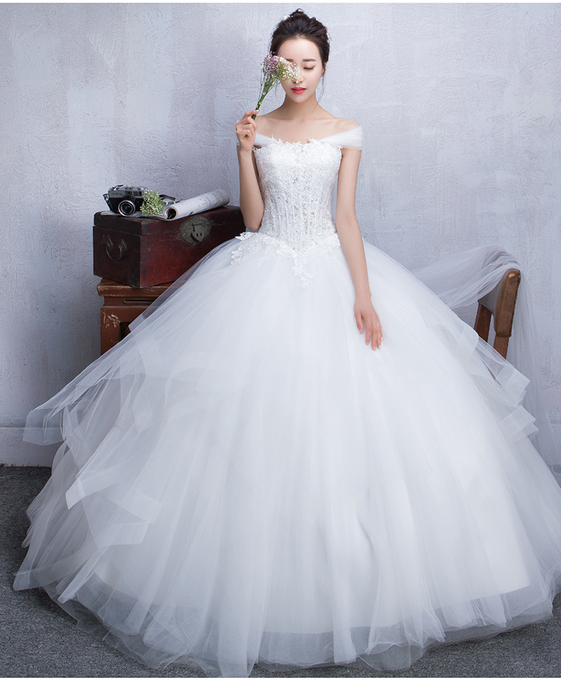 cute cheap wedding dresses photo - 1