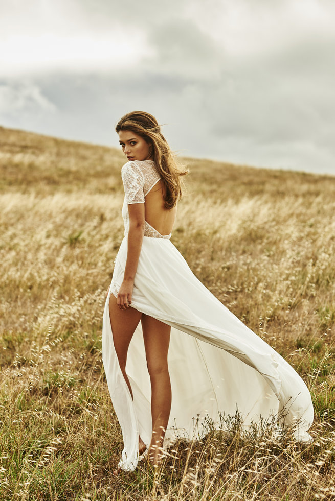 cute country wedding dresses photo - 1
