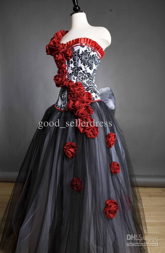 damask wedding dresses photo - 1