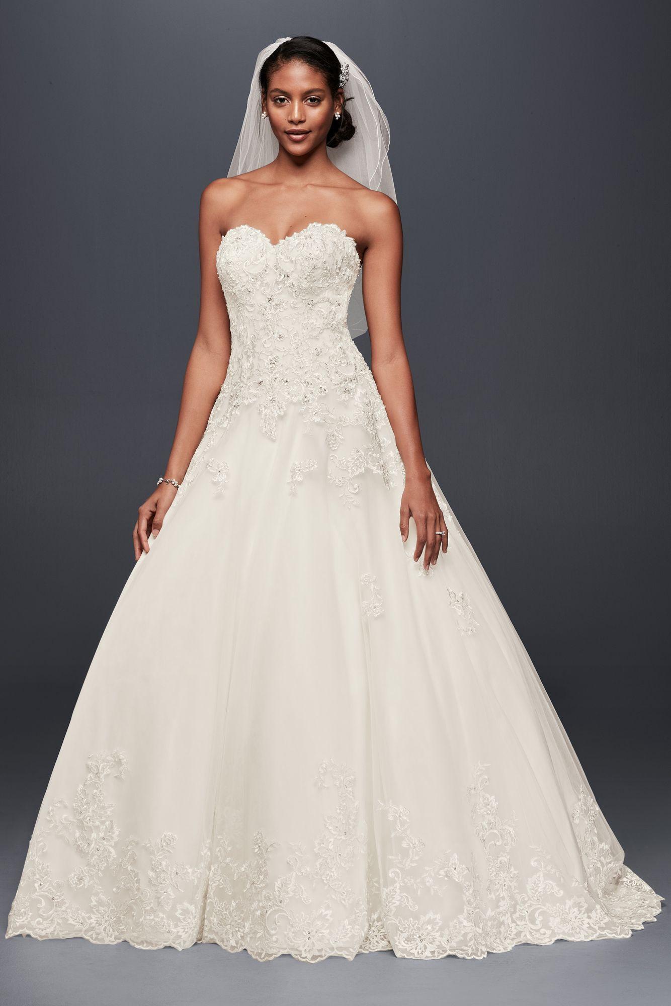 davids bridal ball gown wedding dresses photo - 1