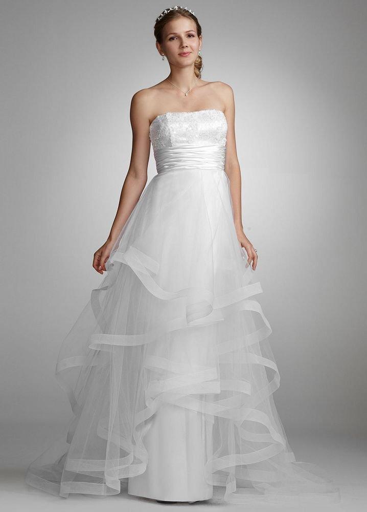 davids bridal wedding dresses photo - 1
