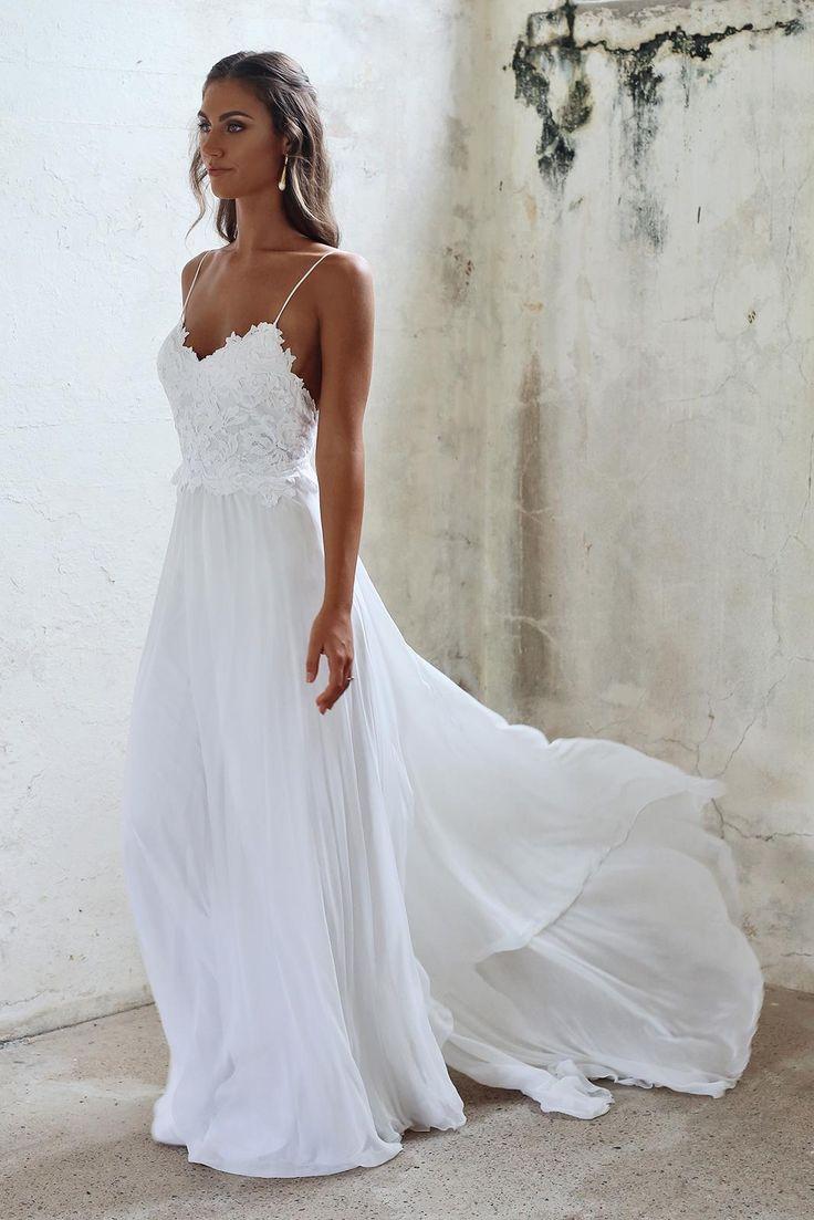 dresses beach wedding photo - 1