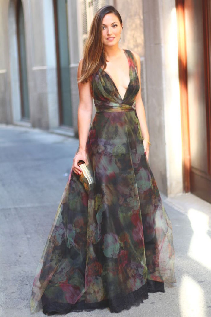 dresses for fall wedding guest photo - 1
