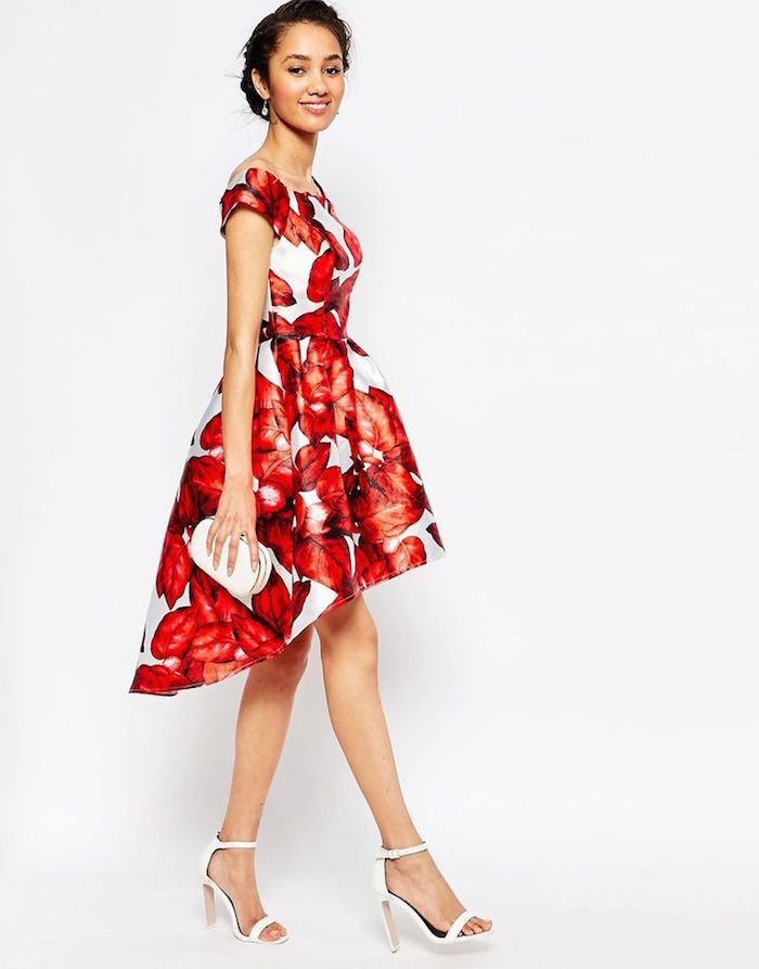 dresses to wear to a fall wedding for a guest photo - 1