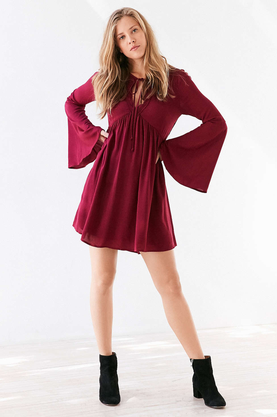 dresses to wear to fall wedding photo - 1