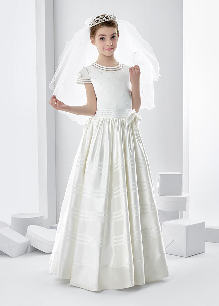 elegant communion dresses photo - 1